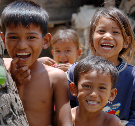 Children in Cambodia